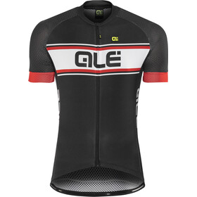 Alé Cycling Solid Vetta Shortsleeve Jersey Herren black-red
